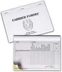FARRIER FORMS